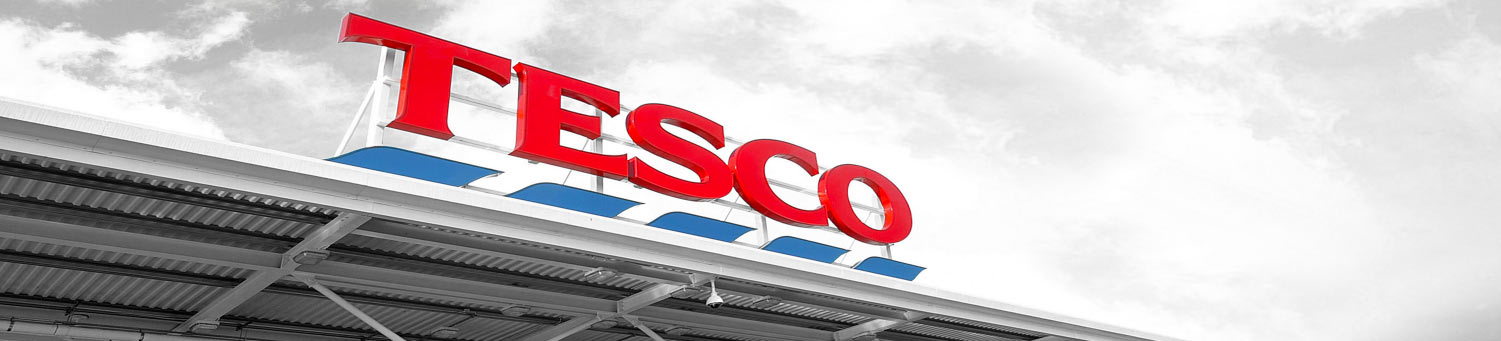 Tesco are one of Sovereign Construction's biggest customers